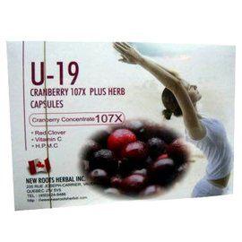 U-19 CRANBERRY蔓越莓膠囊60粒裝