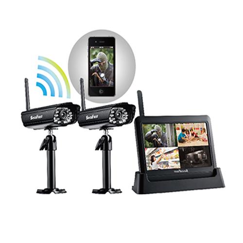 SecuFirst數位無線網路監視器DWH-A059X一機兩鏡