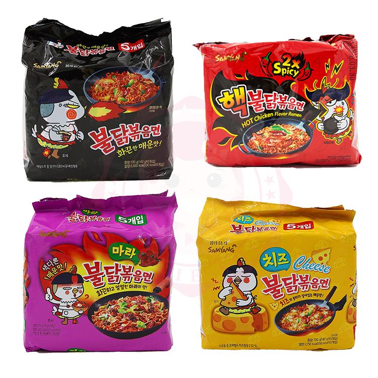 韓國辣雞麵 三養 火辣雞肉風味乾燒拉麵(三款)【庫奇小舖】
