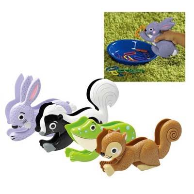 華森葳兒童教玩具感覺統合系列-小動物夾子組N1-EI-3407