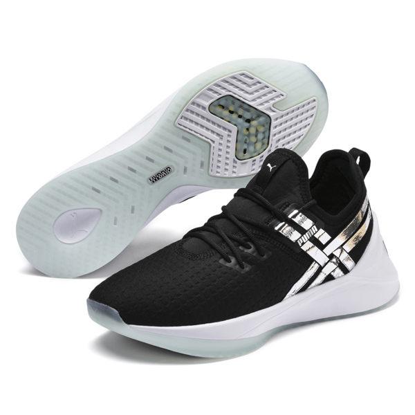 Puma Jaab XT 女 黑 運動鞋 慢跑鞋 有氧運動鞋 健身 瑜珈 輕盈 舒適 套襪式 跑步鞋 19223901