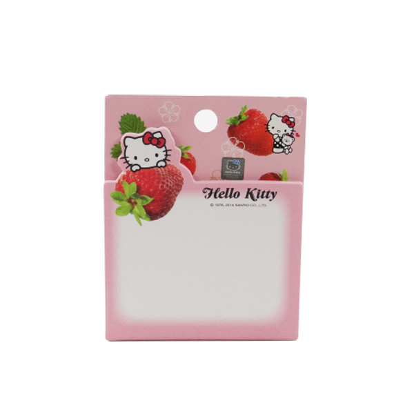 【888便利購】Hello Kitty 草莓便利貼/留言貼 (授權)
