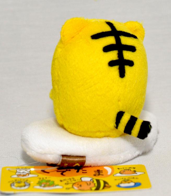 蛋黃哥小老虎 小絨布玩偶 日本限定正版商品 Gudetama