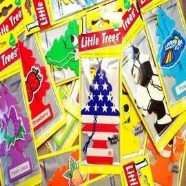 美國 Little Trees 小樹香片 芳香吊飾另有身體幻想系列◎花町愛漂亮◎