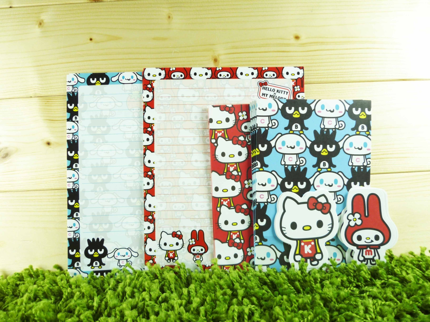 【震撼精品百貨】Hello Kitty 凱蒂貓~信籤組~美樂蒂 KITTY&酷企鵝 大耳狗圖案【共1款】