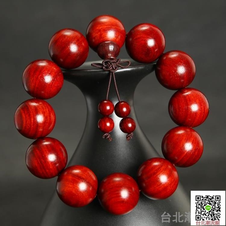 印度小葉紫檀手串108顆佛珠手鍊