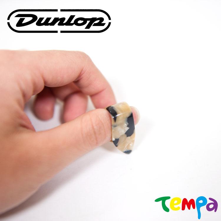 快速出貨-【Tempa】Dunlop 姆指匹克 琥珀貝殼紋9215R M號