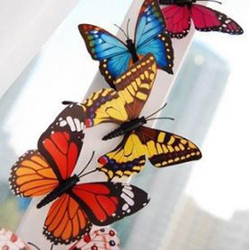 仿真冰箱貼蝴蝶 9元