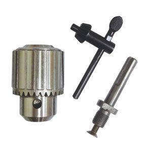 四溝電鑽用13mm 20UNF四分鋼夾頭組SDS接桿