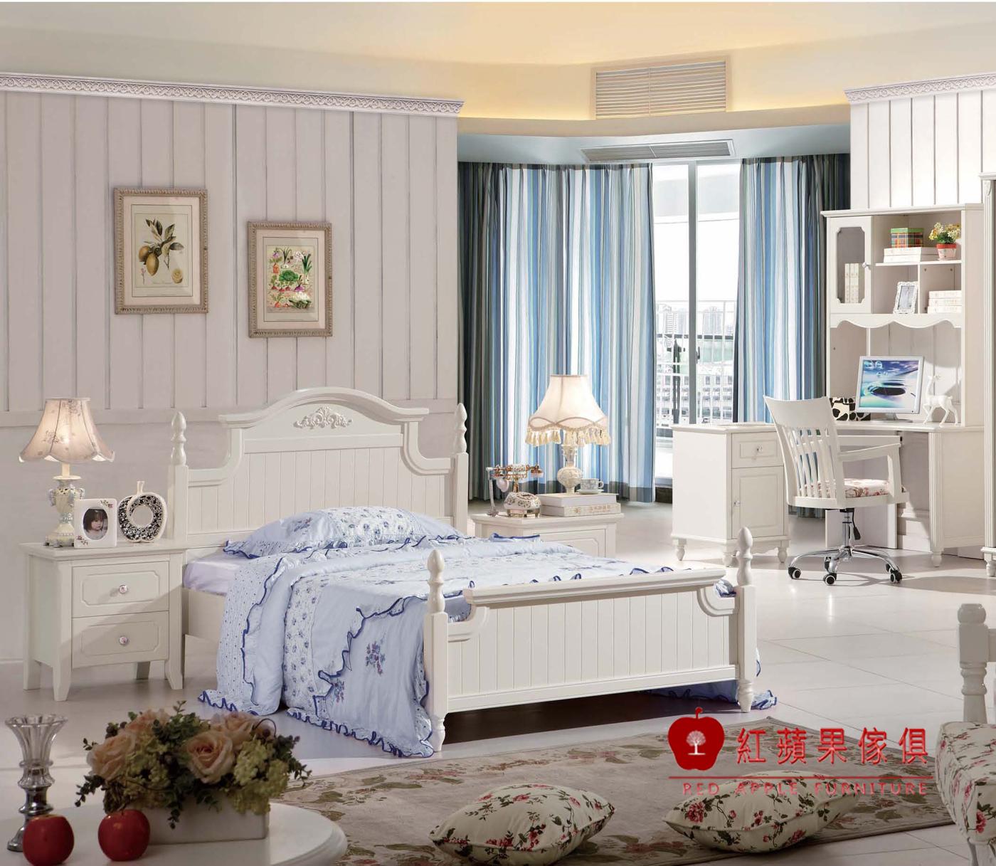 紅蘋果傢俱921極簡系列5尺床雙人床床台床架韓式簡約床組