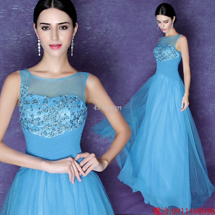 45 Design訂做7天到貨洋裝韓版蕾絲背心裙繡花修身無袖連身裙小禮服胖MM大尺碼