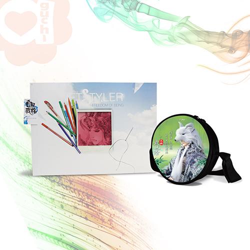 亞古奇X霹靂換面潮包北狗x羅喉飛盤包互換收藏組一包兩片霹靂授權獨家販售
