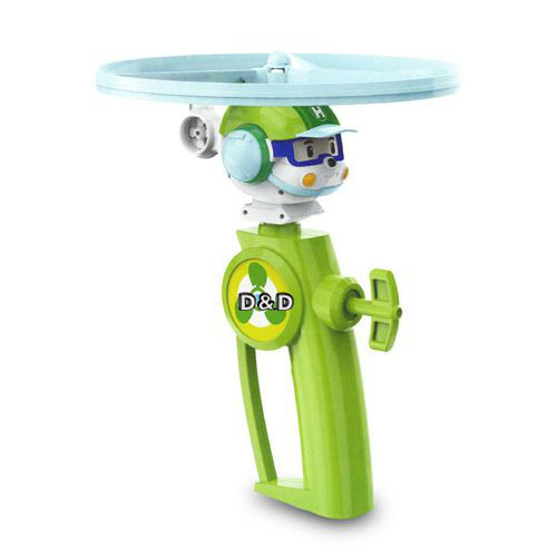 《 POLI 波力 》赫利飛行玩具╭★ JOYBUS玩具百貨