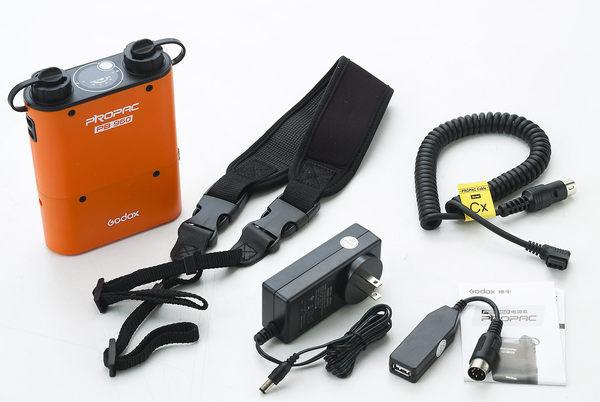 呈現攝影-Godox PB-960 橙 雙閃外閃電池包 外接電池盒 可換電池 閃燈回電包 canon 580Ex 600Rx YN-565