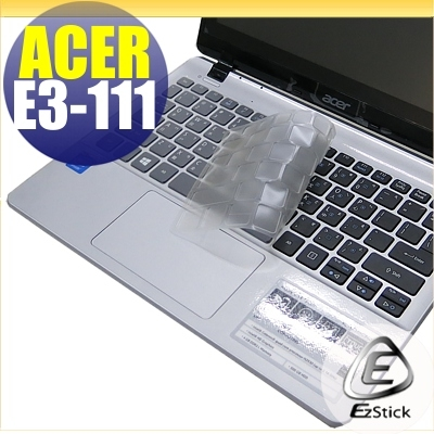 EZstick ACER Aspire E11 E3-111系列奈米銀抗菌TPU鍵盤保護膜