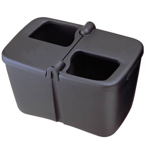車之嚴選cars go汽車用品Fizz-845日本NAPOLEX車用分離式環保垃圾桶