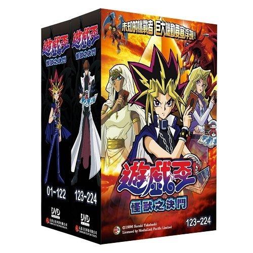 遊戲王怪獸之決鬥DVD全224話國語發音Yu-Gi-Oh Duel Monsters