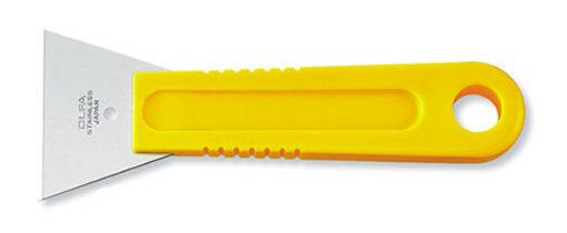 OLFA刮刀SCR-L不銹鋼刮刀寬60mm可水洗磨光與去除異物替換刀片:無
