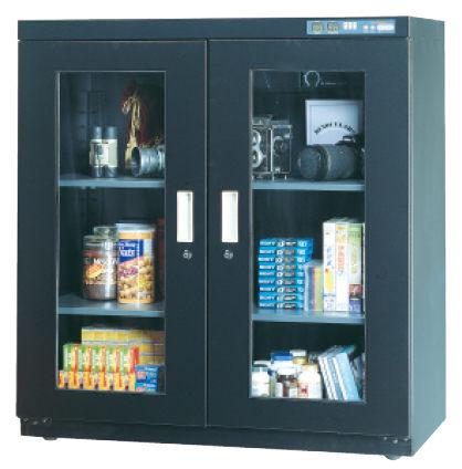 310公升(大型)  溫濕度數字 微電腦防潮箱 防潮書櫃 LED顯示 專利商品 台灣製造 滿額送家樂福禮卷