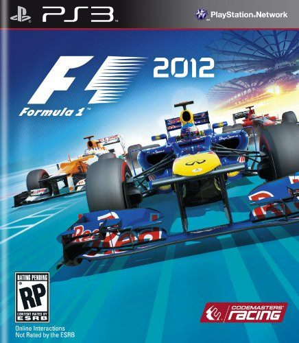 PS3 F1:2012一級方程式賽車2012美版代購