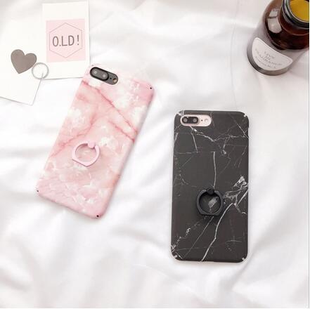 SZ14 iPhone 7plus手機殼大理石指環全包iPhone6s plus手機殼iPhone7保護套i6s硬殼