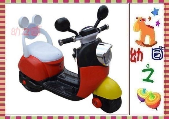 幼之圓*米奇米妮電動車~第二代有椅背靠背款~生日禮物週歲禮物兒童騎乘