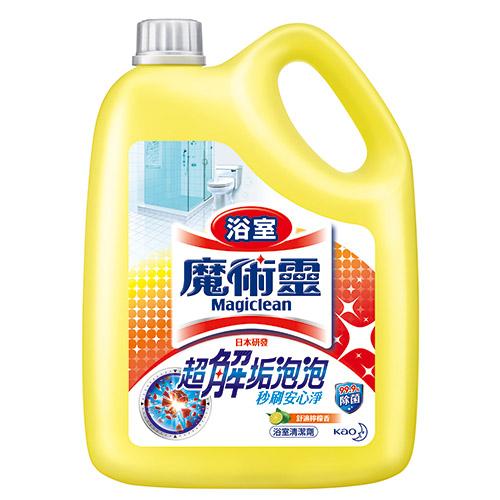 魔術靈浴室清潔劑舒適檸檬量販瓶3800ML花王旗艦館