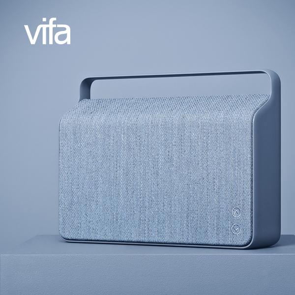 丹麥Vifa Copenhagen Wi-Fi無線喇叭外框提把一體成型立體聲三音路設計藍芽音箱