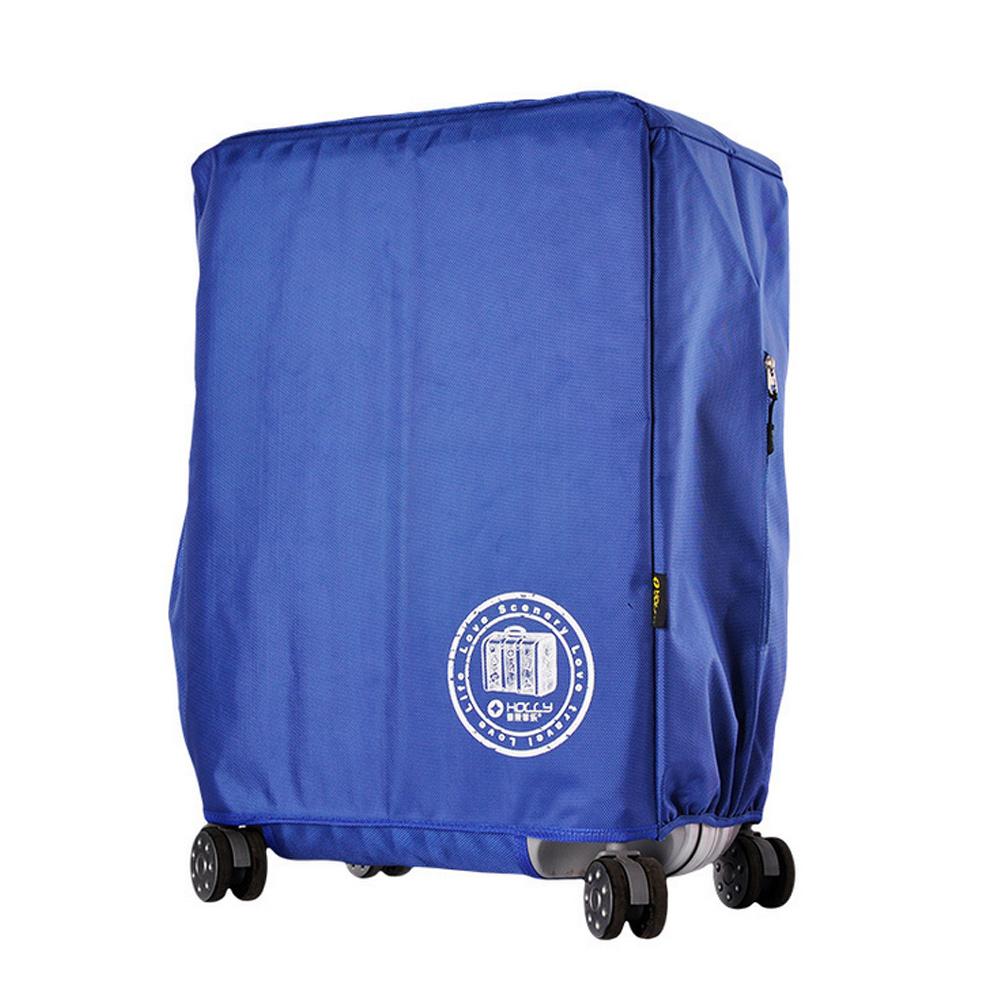 PUSH旅遊用品1680D IPX3防水行李箱拉桿箱登機箱保護套防塵套箱套拖運套S40 22吋