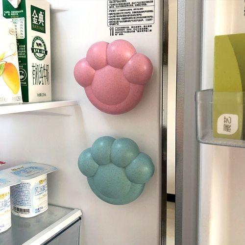 創意可愛貓爪造型冰箱去異味活性炭 室內抽屜吸盤除味竹炭包