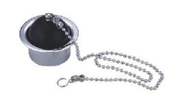 麗室衛浴鏈條式球型落水頭圓形底座浴缸洗腳盆專用M-036-2樣式A