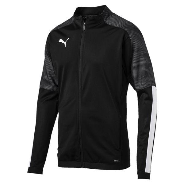 Puma Cup 男女 黑 外套 印花 立領 風衣外套 防風 自行車 擋風外套 運動 健身 外套 65601103