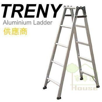 [家事達] 寶島 直馬梯-5尺 鋁梯(可荷重70kg) 特價