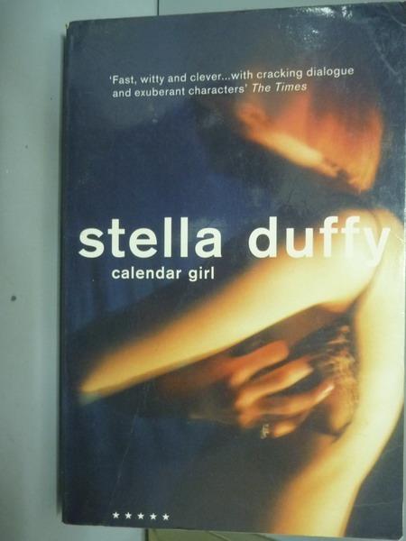 書寶二手書T1原文小說QAN Calendar Girl Stella Duffy