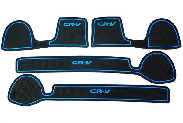 喜美HONDA三代CRV專車專用4片式止滑防水製震杯墊置物墊門邊墊止滑墊防水墊