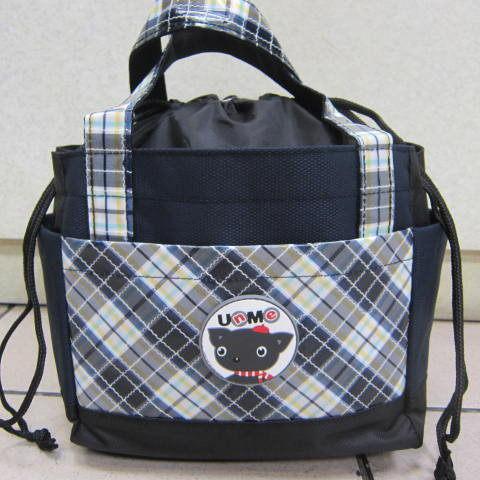 雪黛屋~UNME餐袋碗袋簡易提袋正版授權商品防水特多龍材質台灣製造品質保證3119藍