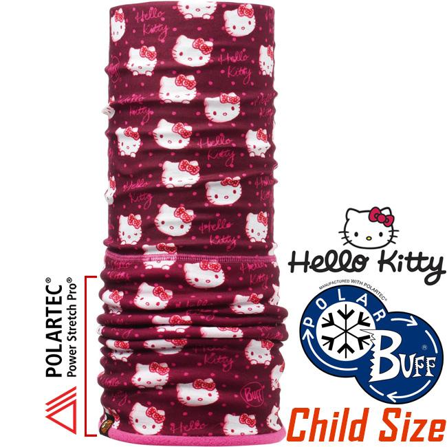 BUFF 108232 Hello Kitty授權Child Polar兒童單面保暖魔術頭巾Polartec機能布料