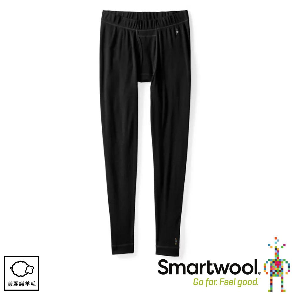 【SmartWool 美國 男 NTS 250緊身長褲《黑色》】SW0NP605/內搭褲/衛生褲/緊身褲