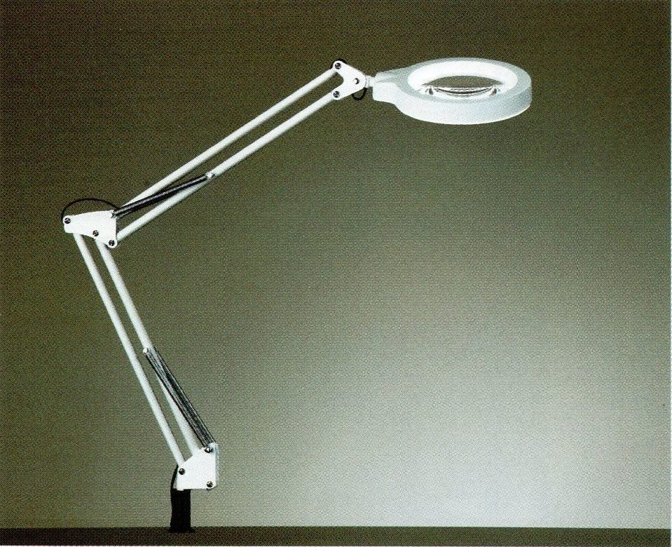 SJI盛智S108 LED放大鏡檯燈MIT銀髮族醫療照護日亞LED光源