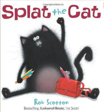 『繪本123‧吳敏蘭老師書單』-- SPLAT THE CAT  /英文繪本