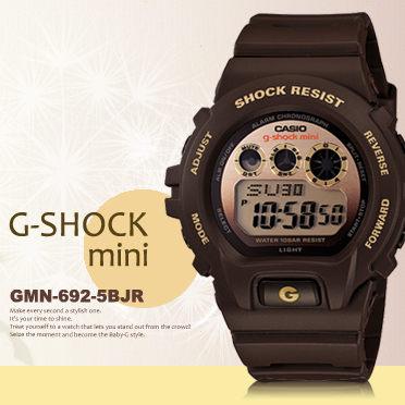 g-shock mini秒殺款gmn-692-5bjr日限g-shock現排單熱賣中