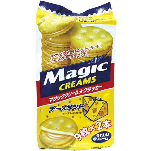 MAGIC CREAMS起司夾心餅150g愛買