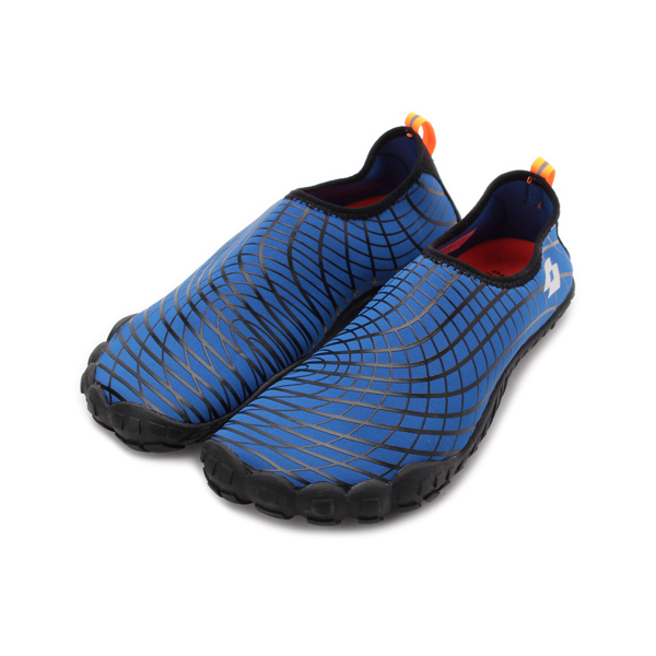 LOTTO AQUwear 多功能護趾水鞋 藍 LT9AMS0906 男鞋 鞋全家福