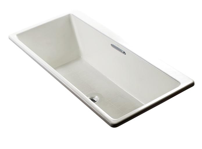 麗室衛浴美國KOHLER Reve鑄鐵浴缸K-16499T不含扶手170 80 46.5 cm