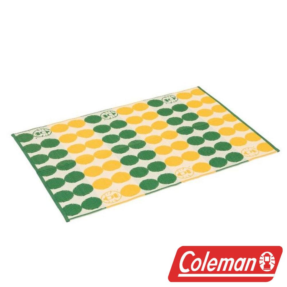 美國Coleman戶外地毯點點綠露營野餐遊戲墊睡墊地墊防潮墊CM-26877