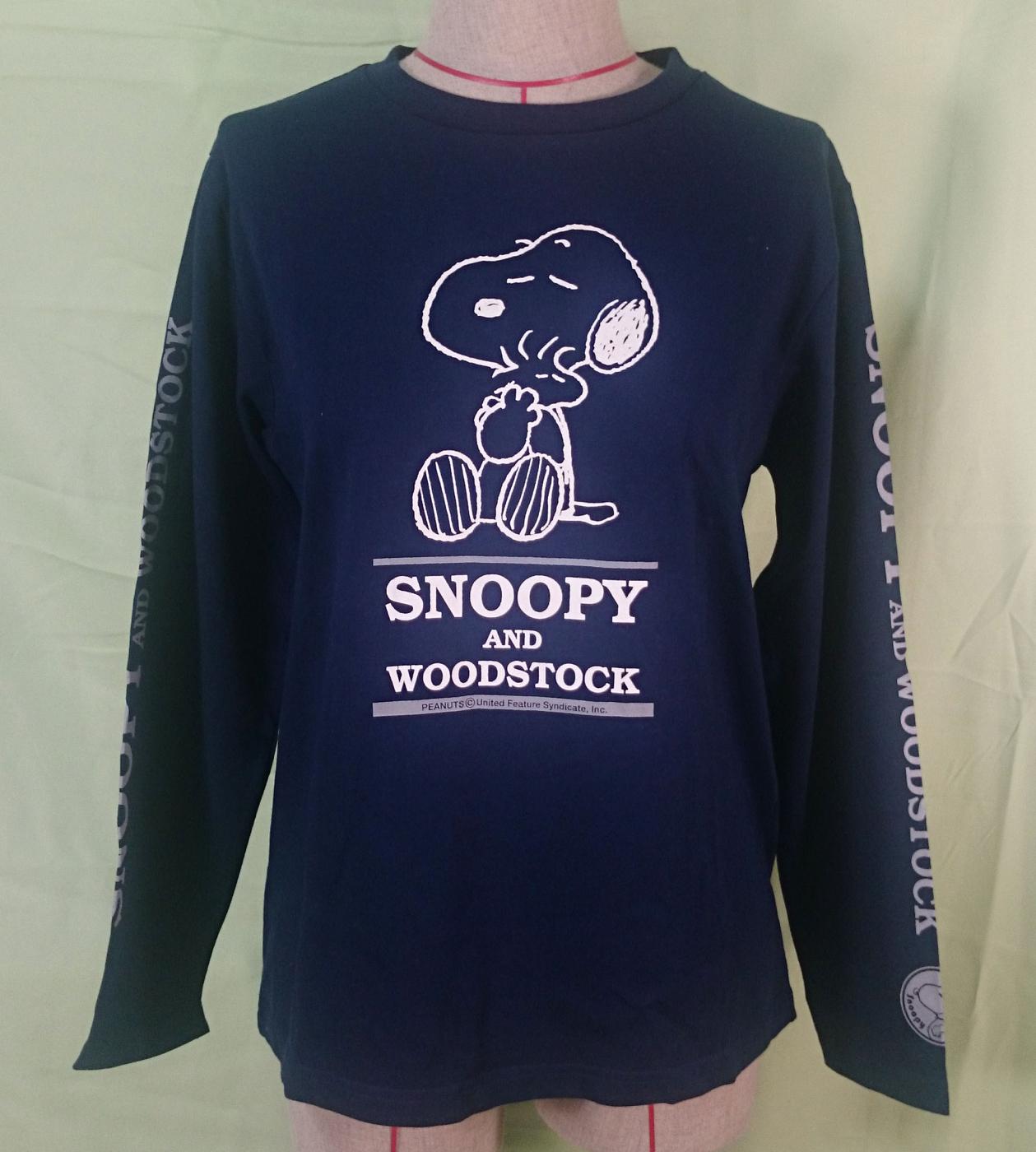 震撼精品百貨Peanuts Snoopy史奴比~長休閒服深藍