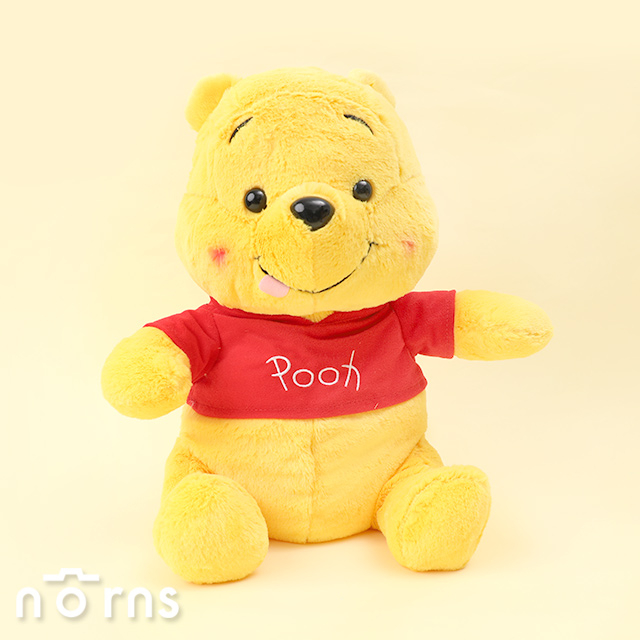 【日貨SEGA娃娃 維尼吐舌頭坐姿】Norns 日本進口正版 害羞小熊維尼 景品玩偶