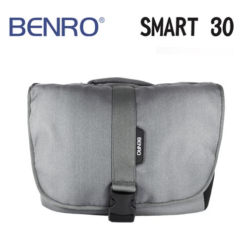 BENRO百諾精靈系列側背包SMART 30灰可放1機3鏡1閃12吋筆電勝興公司貨