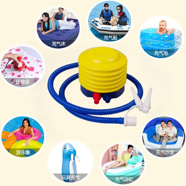BO雜貨【SV6393】腳踩充氣筒 打氣筒 充氣放氣   充氣床  氣球 充氣玩具 壓縮袋抽氣