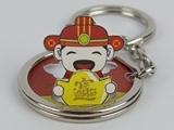 ☆猴子設計☆ 2284 財神爺-立體鑰匙圈